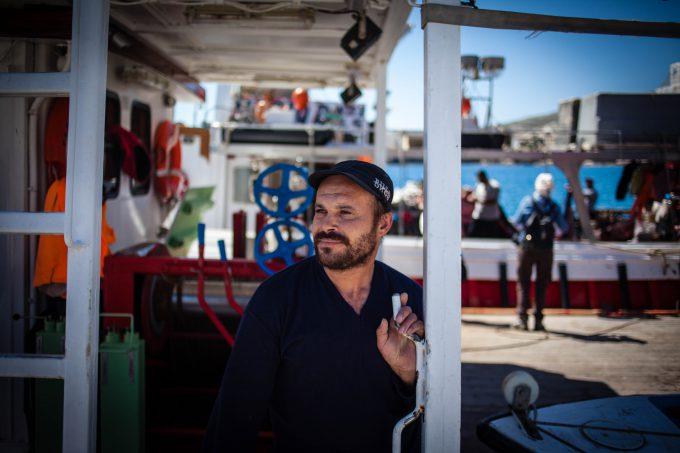 Egyptian Fishermen………..Folegandros 2015