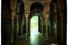 Grand hall in the Moorish House