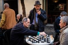 Chess game, Rome.