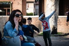 Childrens Play ground, Garbatella, Rome